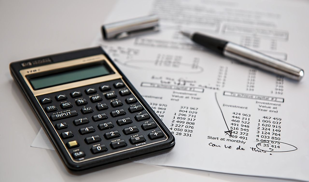 independent auditor looking at financials